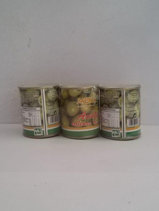 Mercasur Aceitunas 3 pk 50g