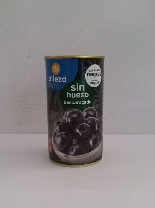 Aceitunas sin pips Negras 150g