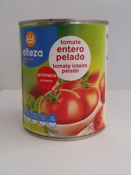 Alteza Tomate Entero 780g