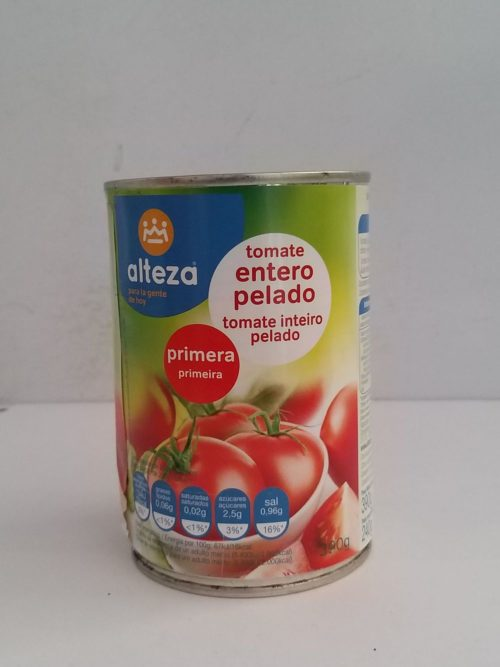 Alteza Tomate Entero 240g