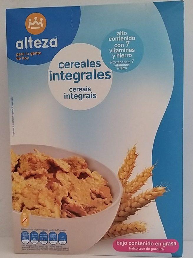 Alteza Cereals Integrales