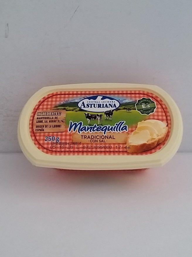 Asturiana with Salt Butter