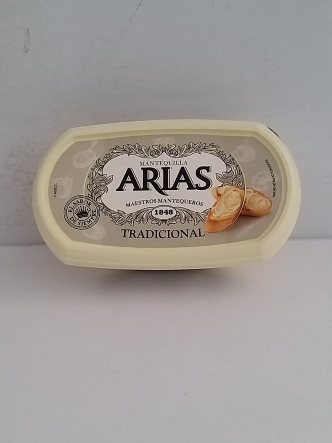 Arias Traditional Butter