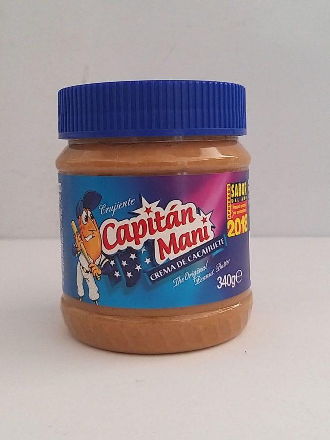 Captain Nani Peanut Butter 340gm