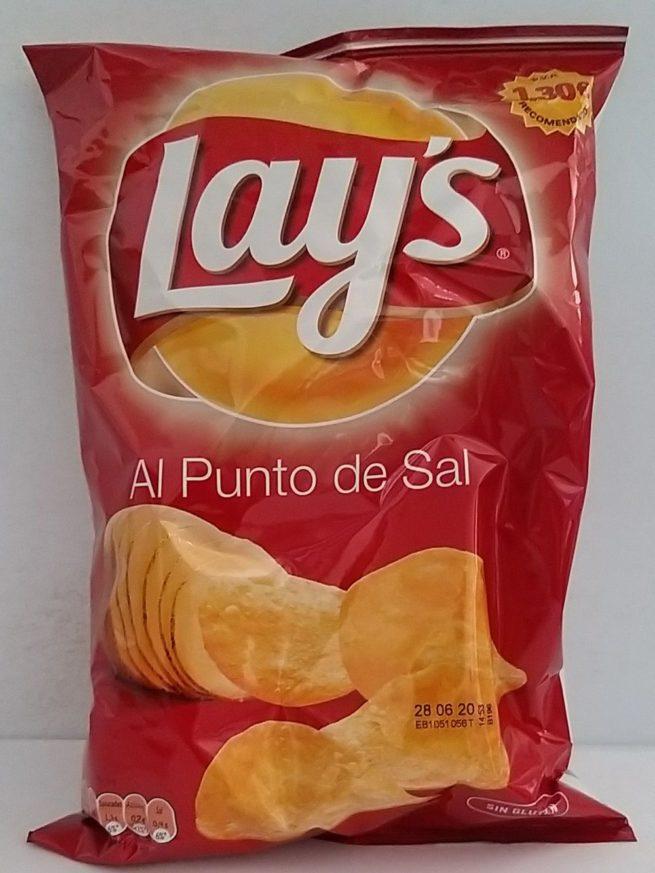 Lays Al Punto Sal 145g