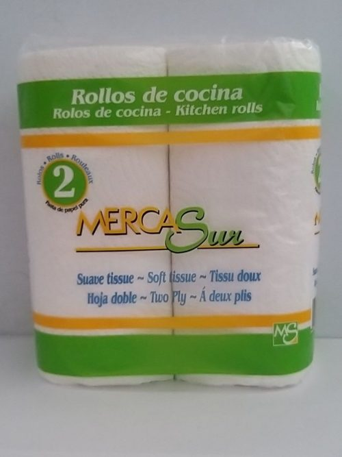 Mercasur Kitchen Roll 2pk