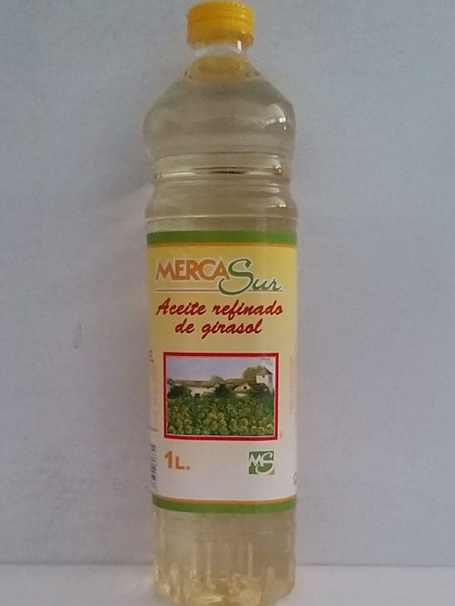 Merca Sur Aceite Refinado de girasol 1lt