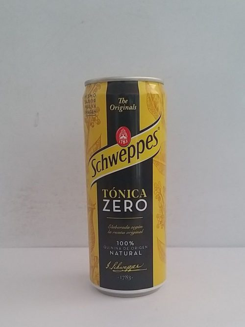 Schweppes Tonica Light Can