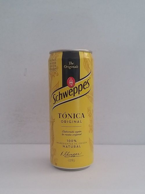Schweppes Tonica Can