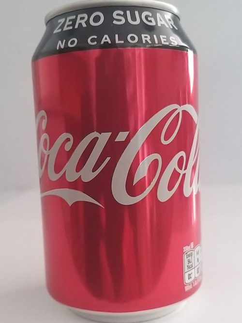 Coca Cola Zero Lata (Can) 330ml