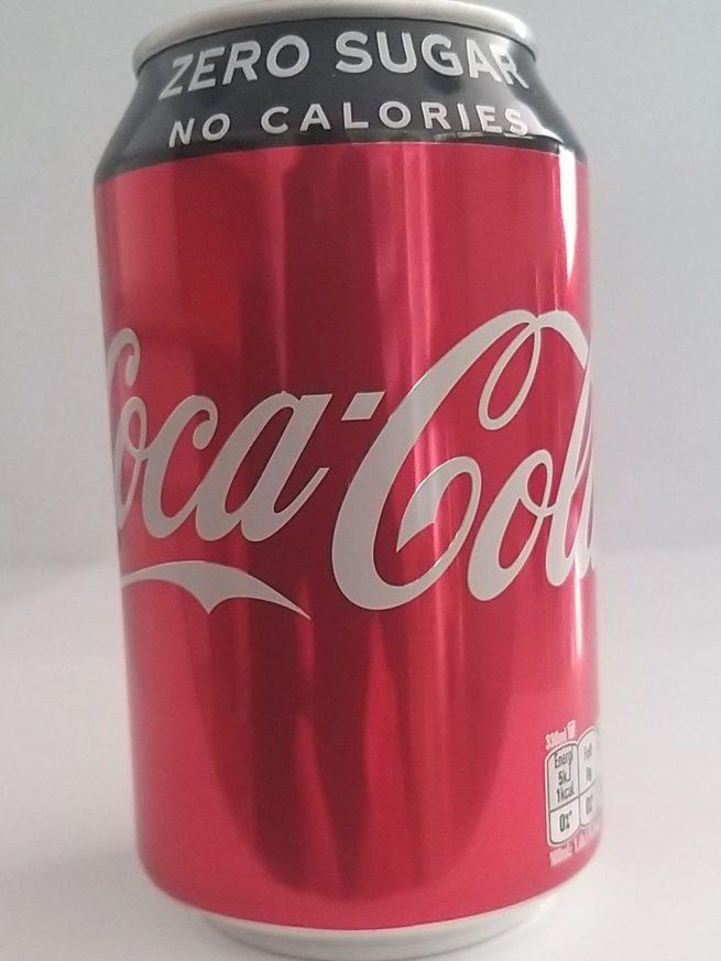 Coca Cola Zero Lata (Can) 330ml