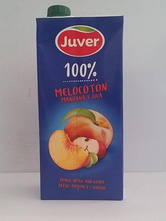 Zumo Melocoton Juver 1lt